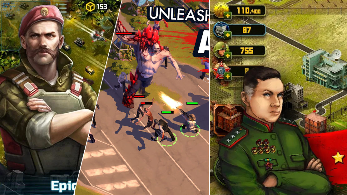 Top Ten Best Android Strategic Games on Android Google Play