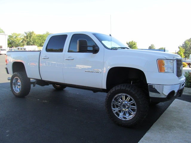 truck conversions for sale 2008 gmc sierra 2500 diesel lifted truck. Black Bedroom Furniture Sets. Home Design Ideas