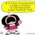 Mafalda: estão fudendo com o país