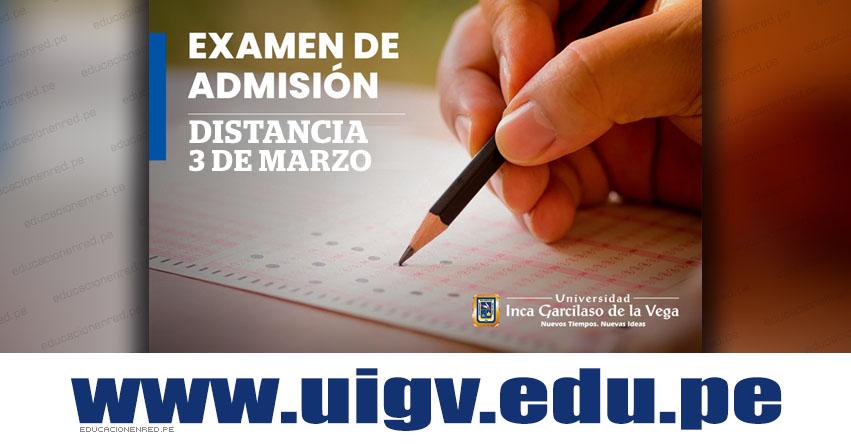 Resultados UIGV 2019-1 (Domingo 3 Marzo) Lista de Ingresantes Examen Admisión PRESENCIAL - Universidad Inca Garcilaso de la Vega - www.uigv.edu.pe