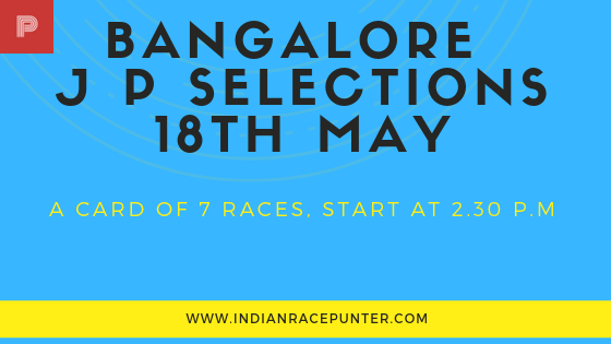 Bangalore  Jackpot Selections 19th May