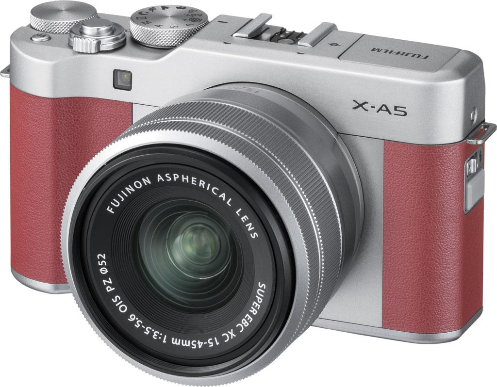 Fujifilm X-A5, розового цвета