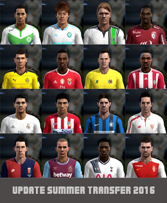 Option File PES 2013 untuk SUN Patch 5.0 Copa America 2016