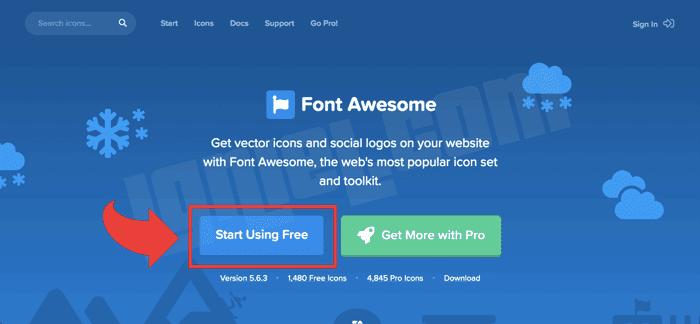 Cara Memakai Font Awesome di Blogger Blogspot