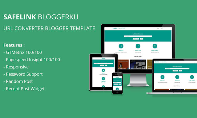 Download Template Safelink Conventer Loading Cepat 100% Gratis dan Premium
