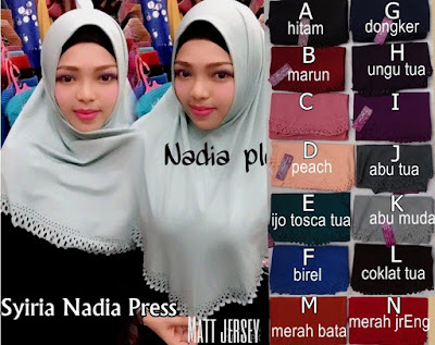 Model Jilbab Terbaru Nadia Press