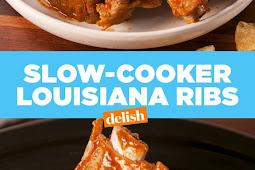 Slow-Cooker Louisiana Ribs