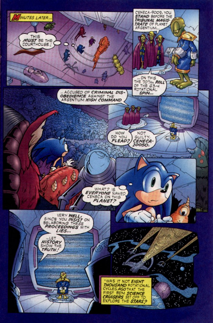 Read online Sonic The Hedgehog comic -  Issue #129 - 11