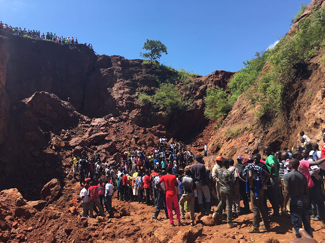 Six believed to be buried alive in Migori Mine in Kenya