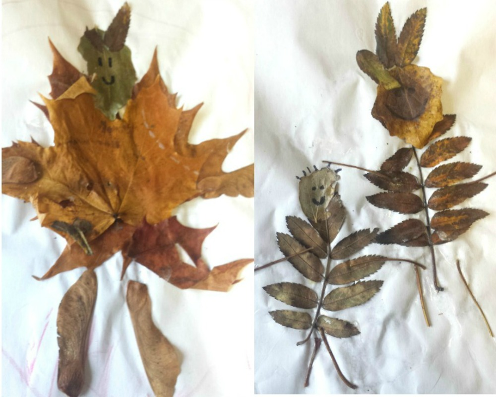 4 Autumn Leaf Activities For Little Ones - Leaf People