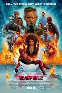 Deadpool 2 theatrical Poster