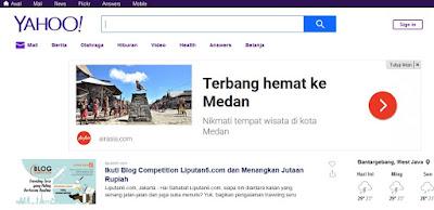 Cara Terbaru Merubah Yahoo Mail  Baru Ke Versi Lama Versi Klasik