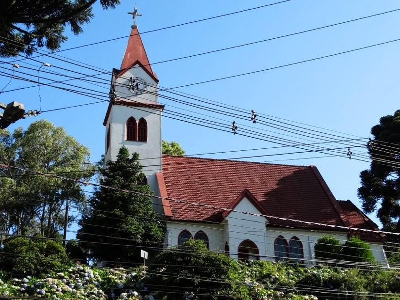 Igreja do Relógio, Gramado, RS - o que fazer de graça em Gramado