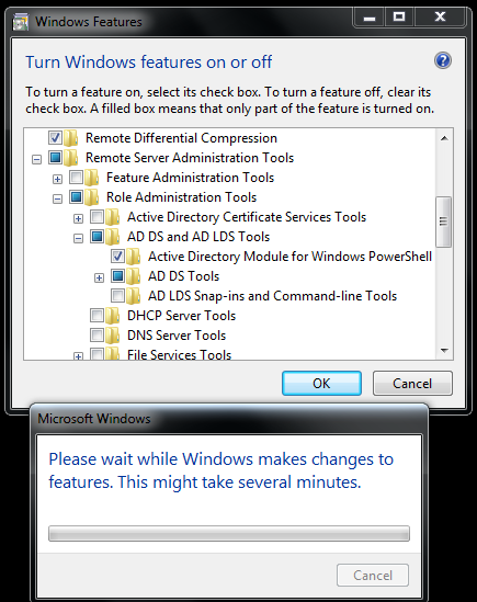 Infra World: Enable Active Directory module for Windows