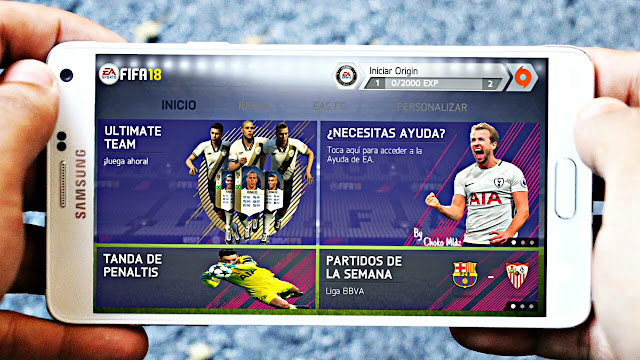 FIFA 14 MOD FIFA 18 Android 800 Mb New Menu Best Graphics Offline