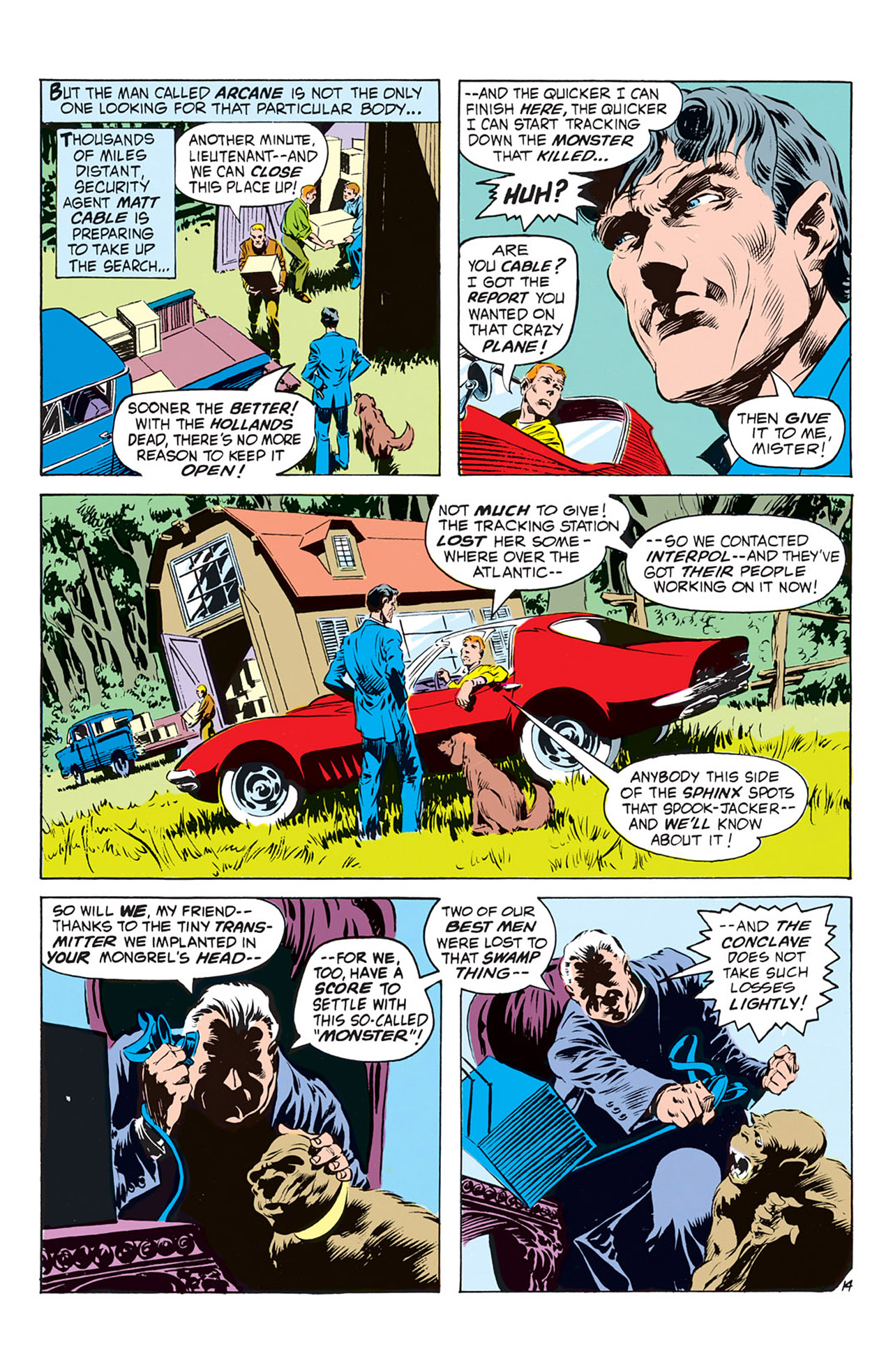 Swamp Thing (1972) Issue #2 #2 - English 15