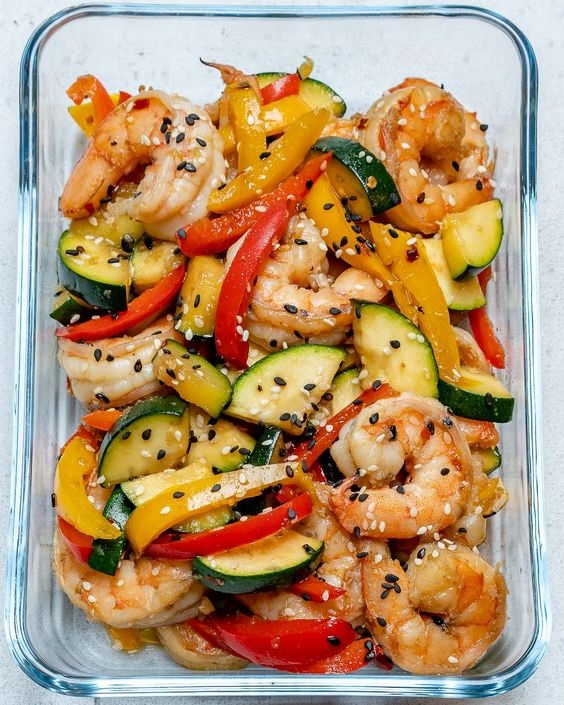 Super-Easy Shrimp Stir-fry