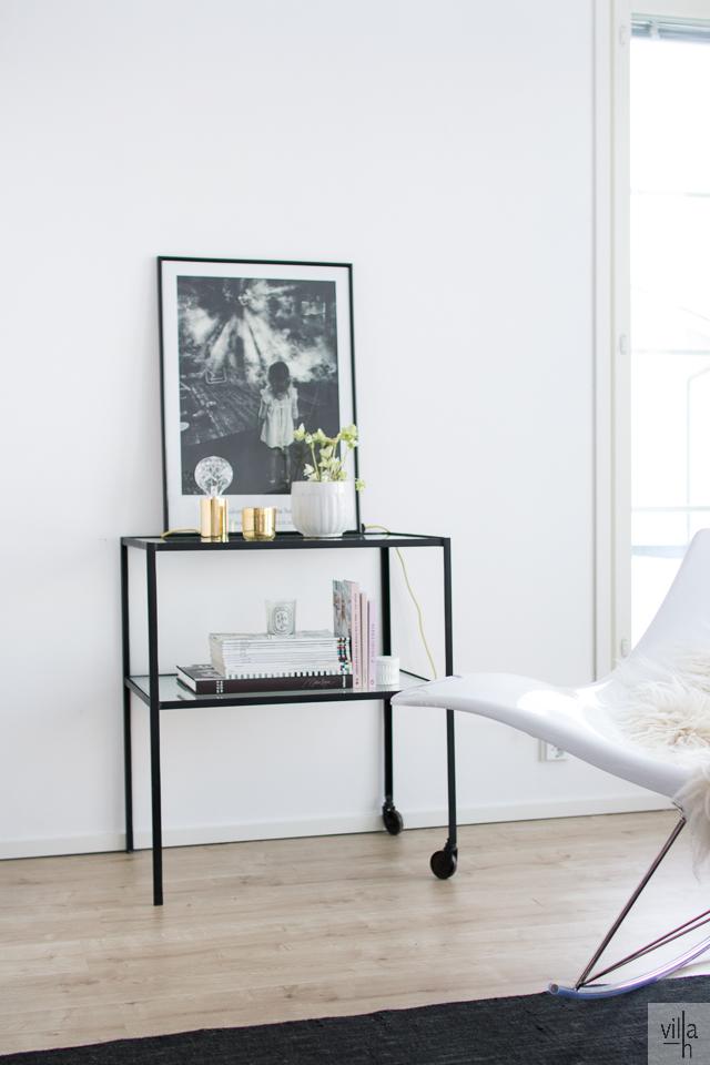 house doctor sivupöytä, stingray, olohuone, sisustus