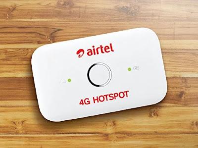 Airtel 4G Hotspot Features