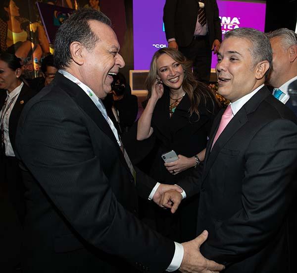 Secretario-Gustavo-Santos-Presidente-Iván-Duque