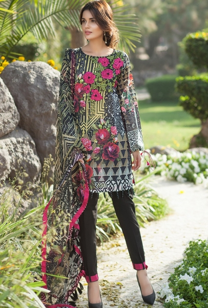 Mausummery Summer Lawn Dresses Collection 2017 Volume 2