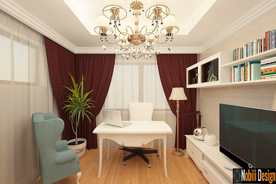 Design interior living clasic vila Bucuresti -  Design interior case clasice Bucuresti