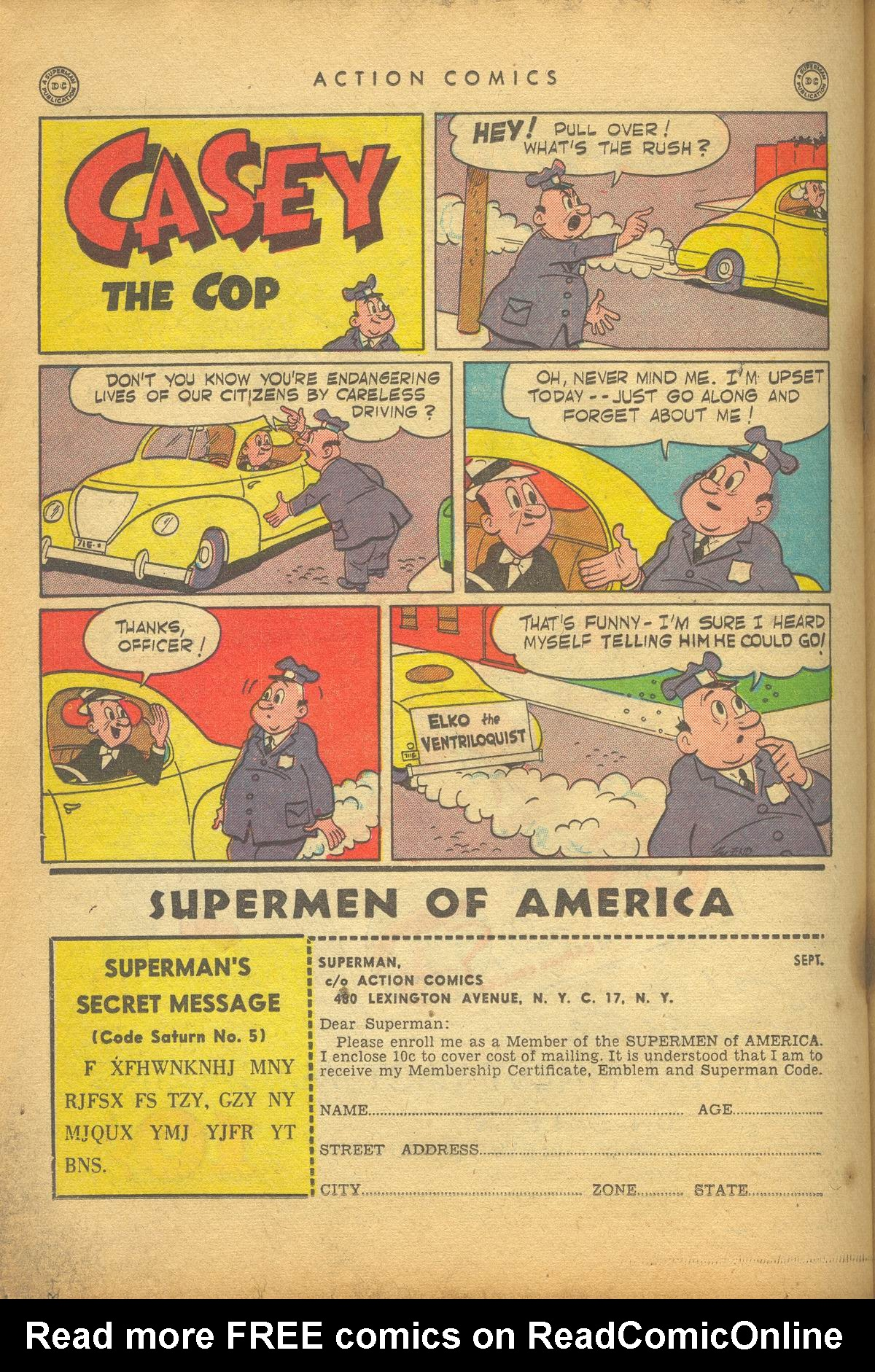 Read online Action Comics (1938) comic -  Issue #112 - 32