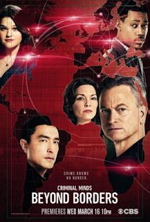 Mentes Criminales: Beyond Borders Temporada 1 Poster