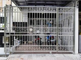 Kumpulan Contoh Gambar Pagar Stainless Steel Minimalis Untuk Rumah, Terbaru