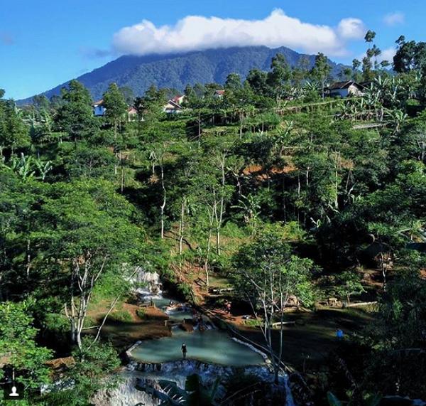 Wisata Bandung Barat Pemandian Air Panas, Nagrak