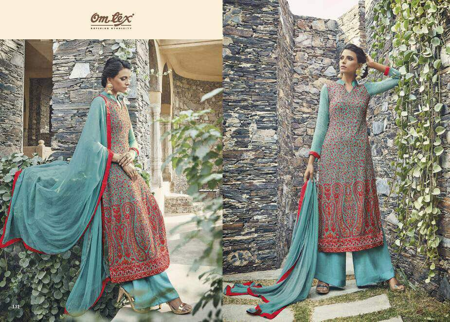 Sarah – Formal Exclusive Viscose Georgette Long Straight Salwar Kameez