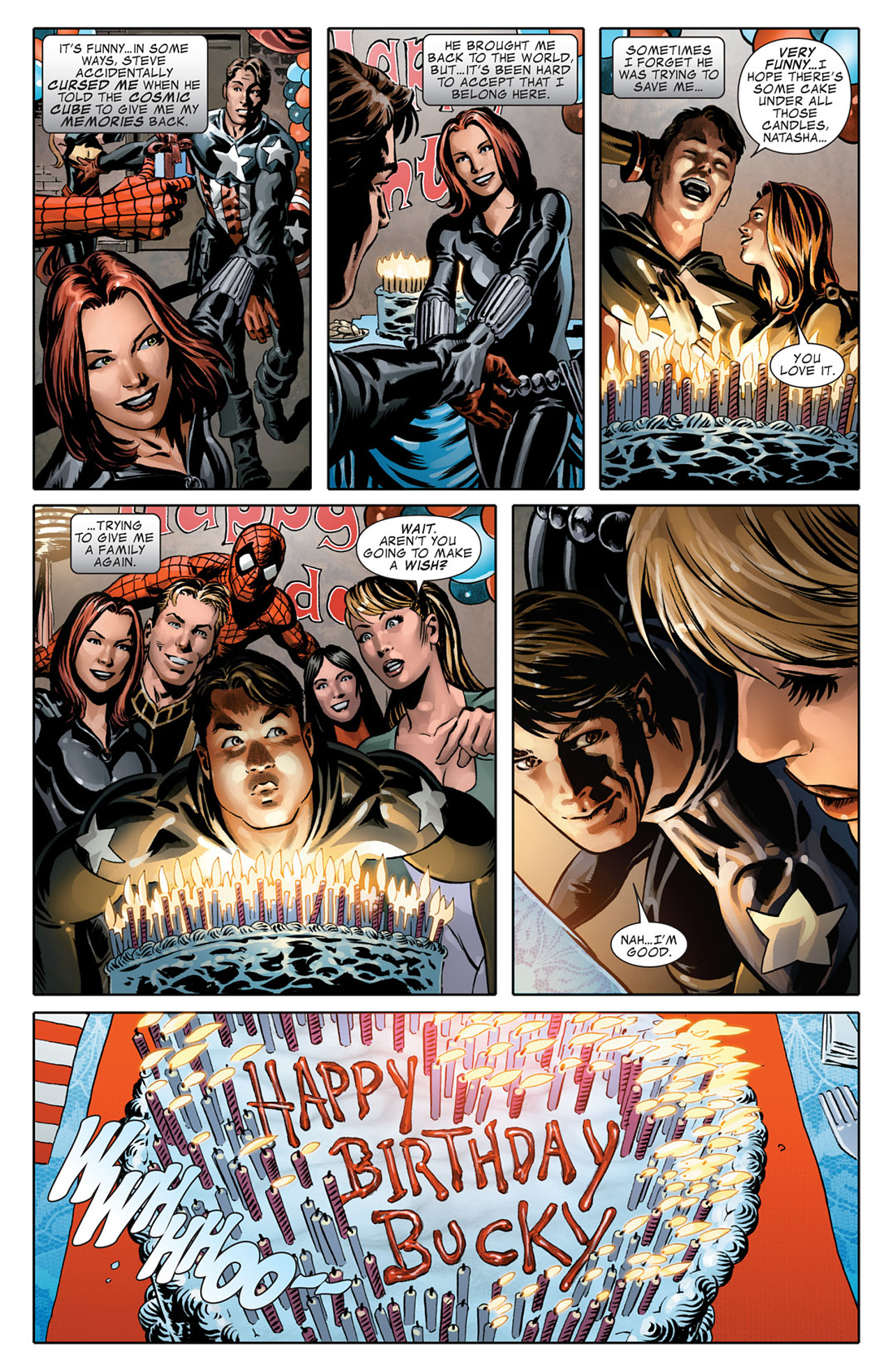 Read online Captain America (2005) comic -  Issue #50 - 24