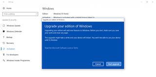 Cara Upgrade Windows 10 Home ke Windows 10 Pro