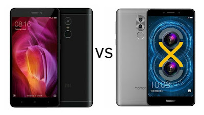 Xiaomi Redmi Note 4 vs Honor 6X
