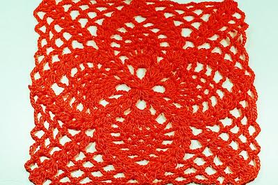 7-Crochet Cuadro de puntos de piñas Majovel Crochet ganchillo.