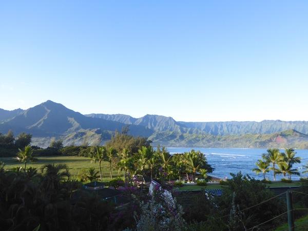 St Regis resort view Princeville Kauai