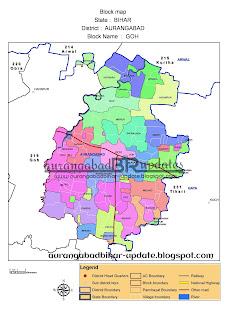 goh block map गोह का नक्शा