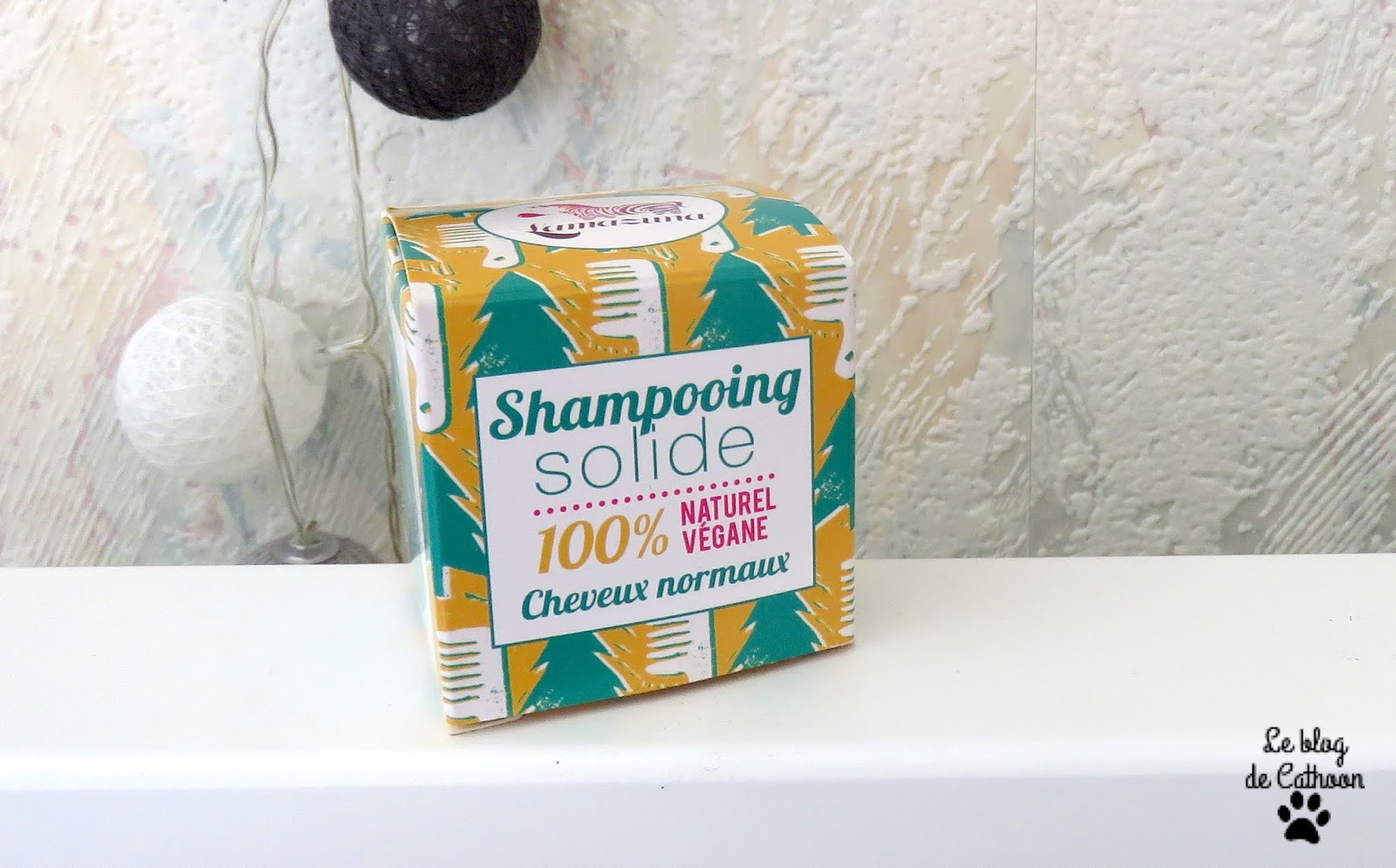 Shampoing solide pour cheveux normaux - Lamazuna