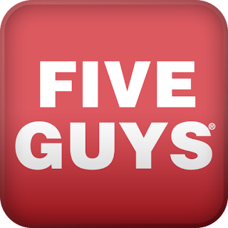 A Five Guys app to order your burger & fries