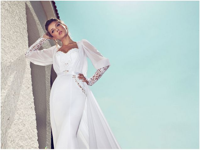 Vestido de novia de Julie Vino