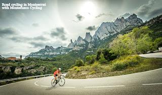 Cycling in Montserrat (Barcelona)