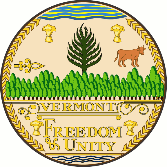 Vermont state seal - Freedom & Unity