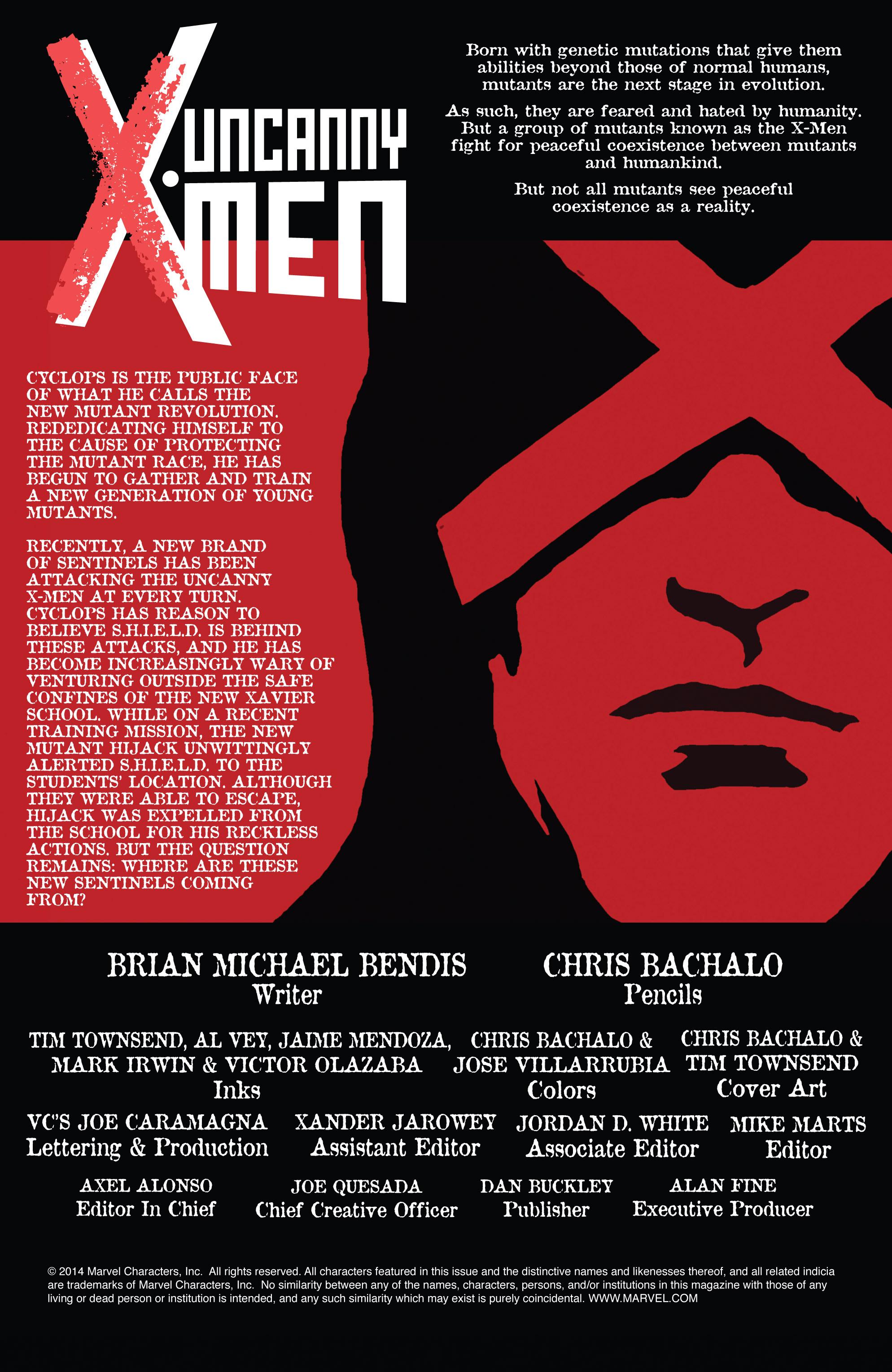 Read online Uncanny X-Men (2013) comic -  Issue # _TPB 4 - vs. S.H.I.E.L.D - 4
