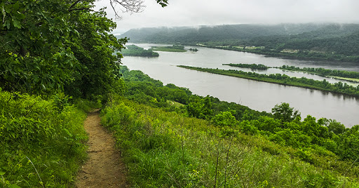 Brady Bluff Trail at Perrot State Park