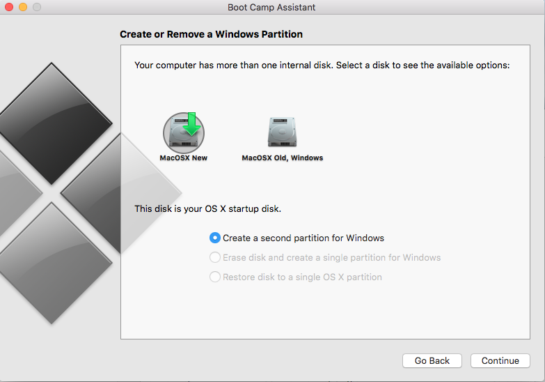 Migrating/cloning an Apple MAC OSX with Windows 7 / 8 / 10 Bootcamp