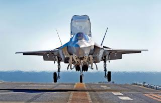Jet Tempur Siluman F-35B