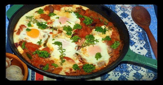 Poached Egg Rougaille Recipe