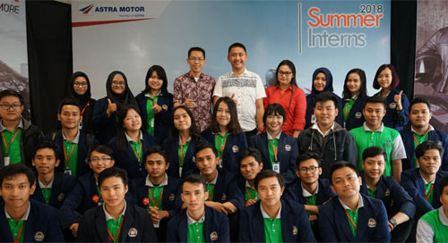 Astra Motor Summer Interns 2018