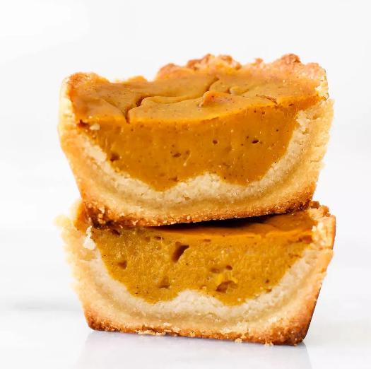 VEGAN & GRAIN-FREE PUMPKIN PIE CUPS #pumpkin #dessert