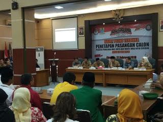 Rapat Pleno Penetapan Pasangan Calon Walikota Dan Wakil walikota Cirebon